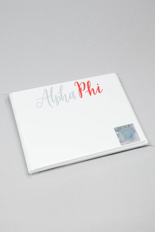 Sorority Card and Envelope Set