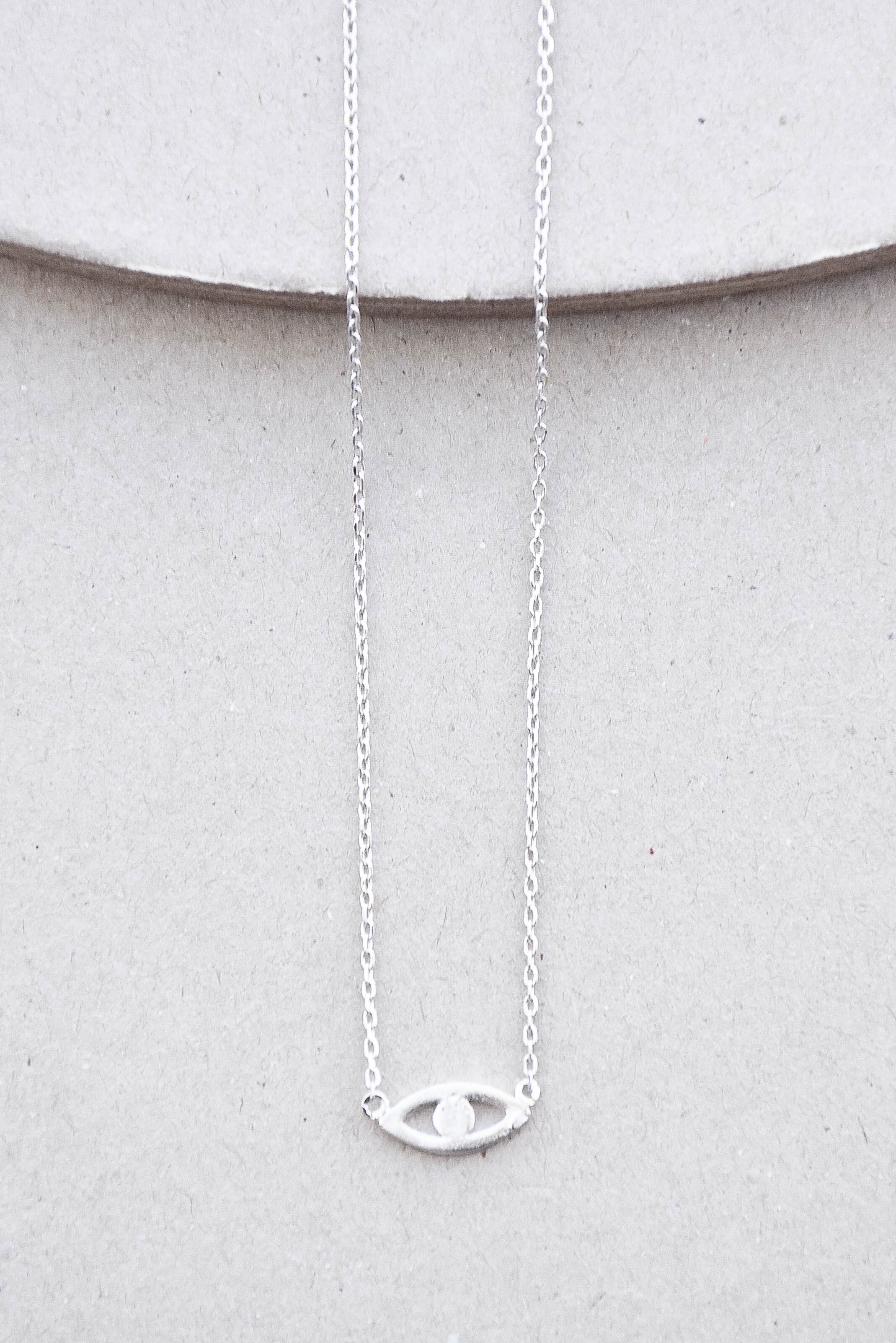ETC Eye Necklace (Silver)