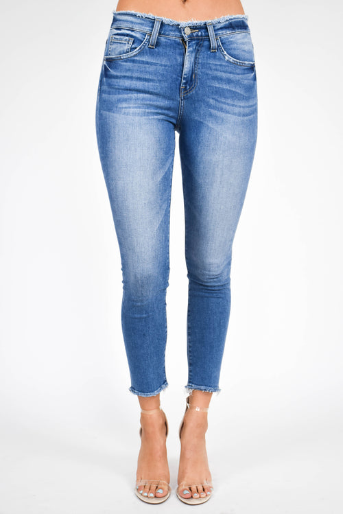 Flying Monkey High Rise Skinny Jean (Lazy Afternoon)