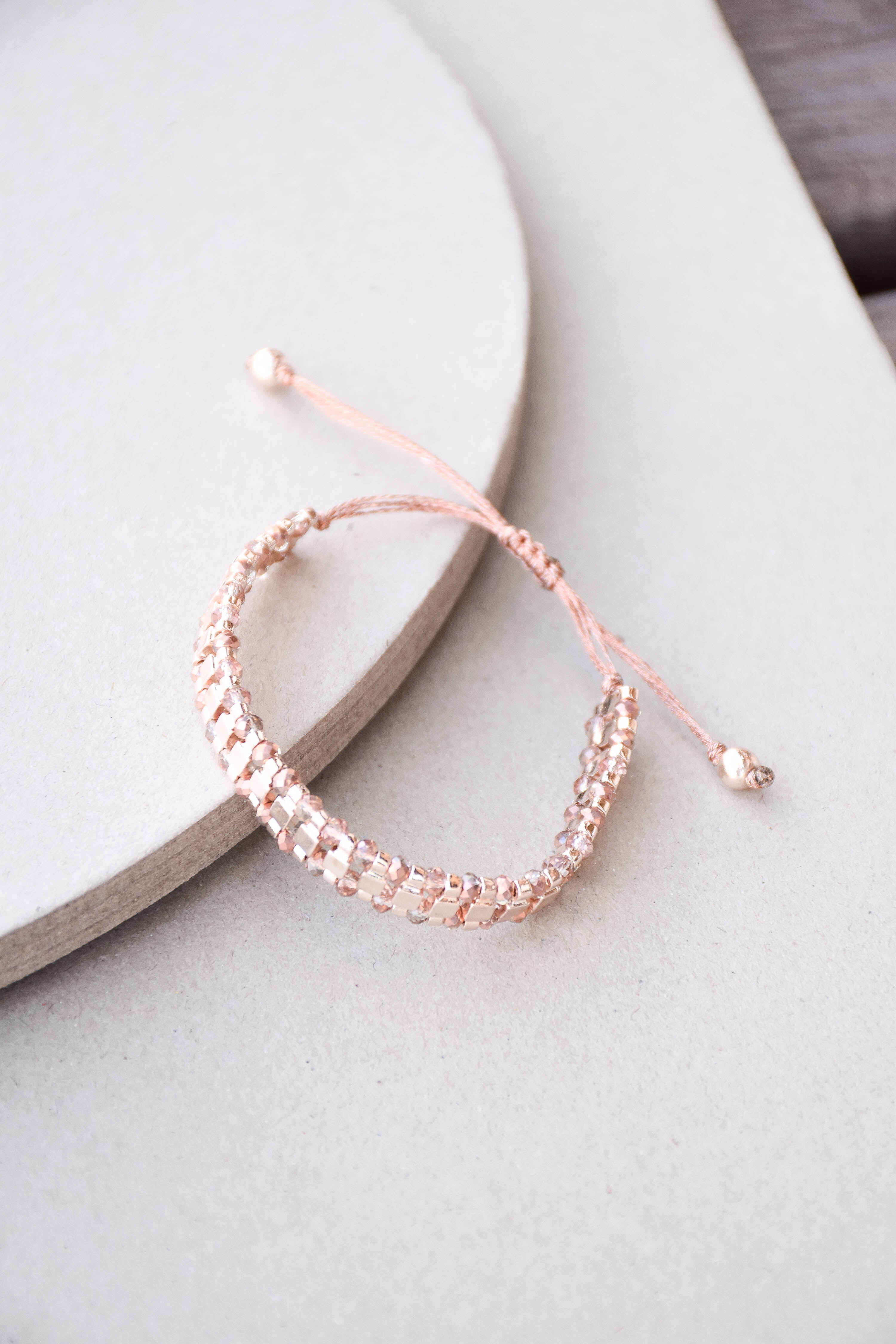 Ladder Bracelet (Rose Gold)