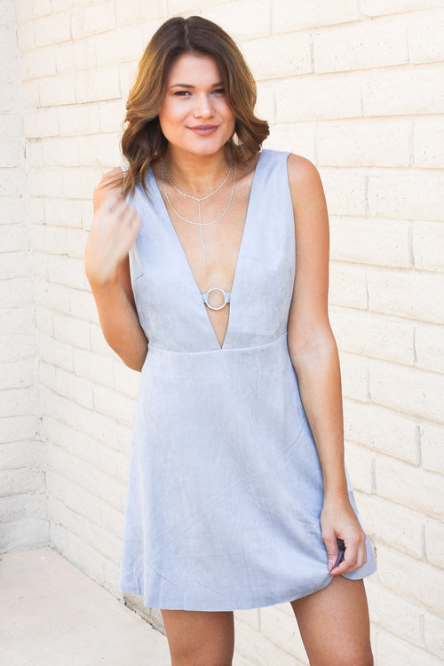 Deep V Slide Dress SALE