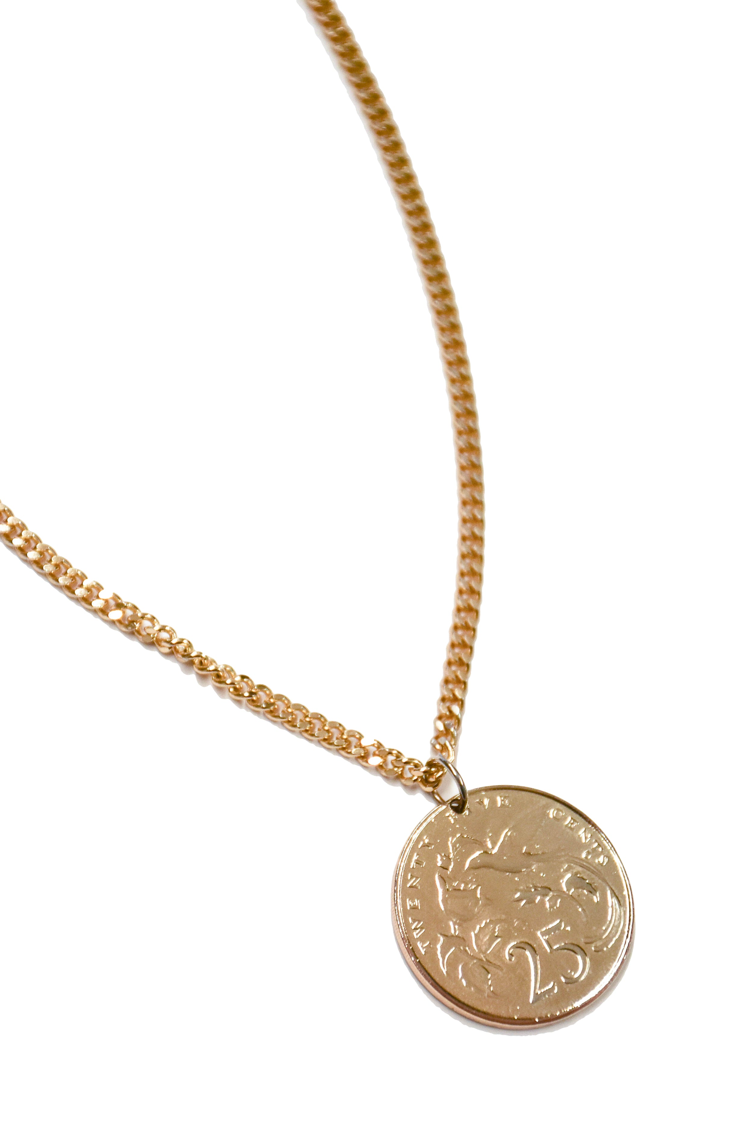 B. Alli Kaja Gold Coin Necklace