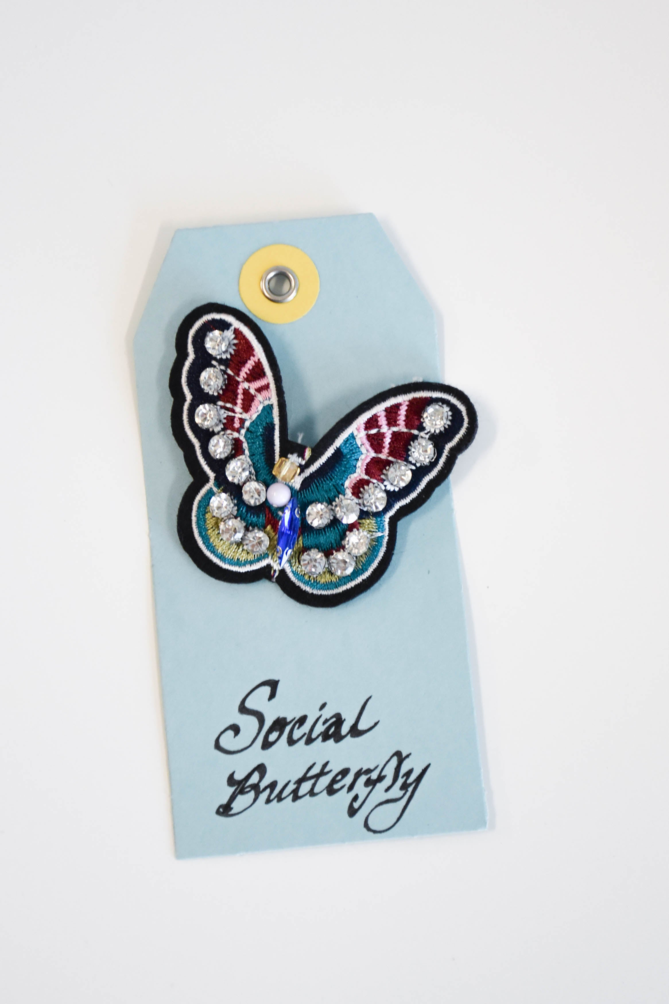 Social Butterflies Patch Pin (Social Butterfly)