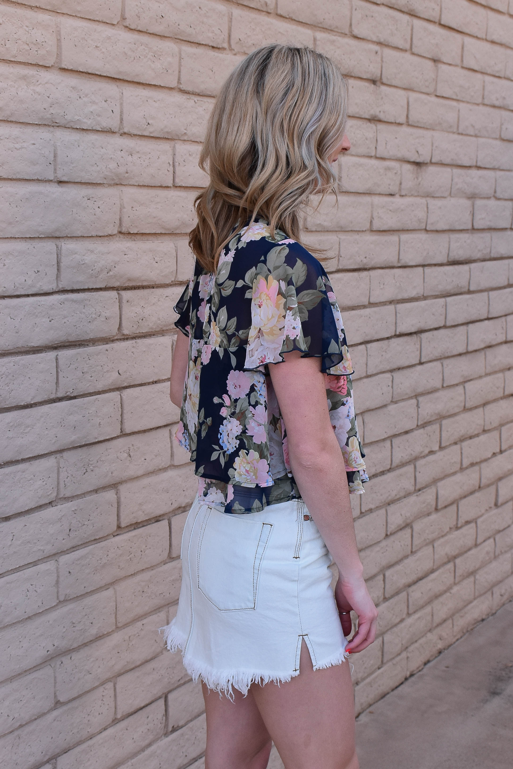 Show Me Your Mumu Margie Top (Party Blossom) SALE