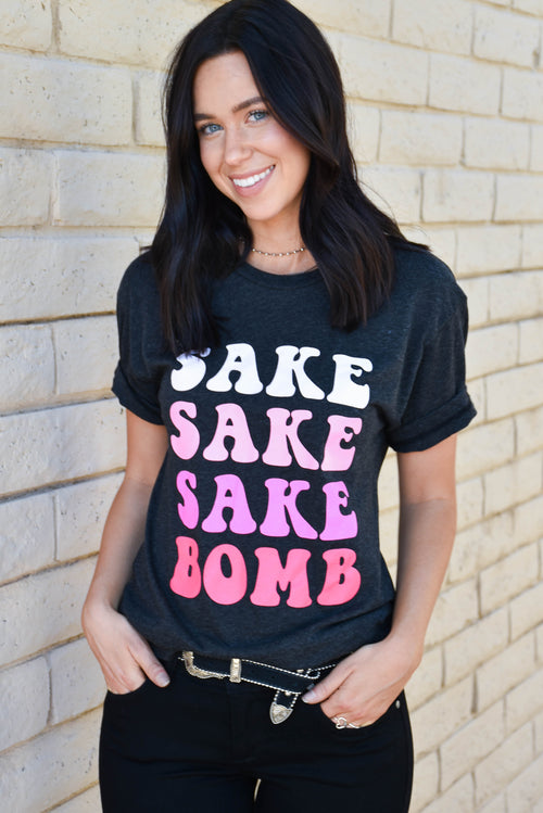 Fifth + Palm Sake Bomb Tee (Black) SALE