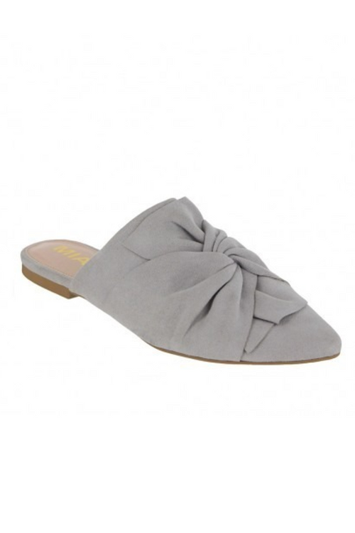 Cabaret Knotted Slip On (Gray) SALE
