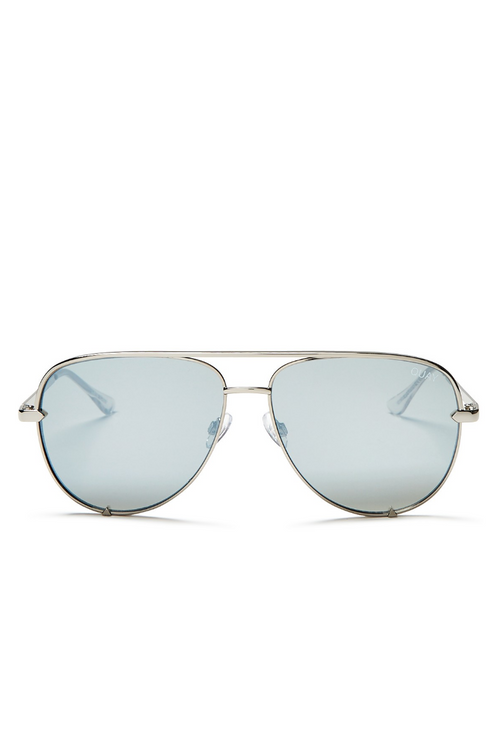 "Quay Australia ""High Key"" Sunglasses (Silver)"