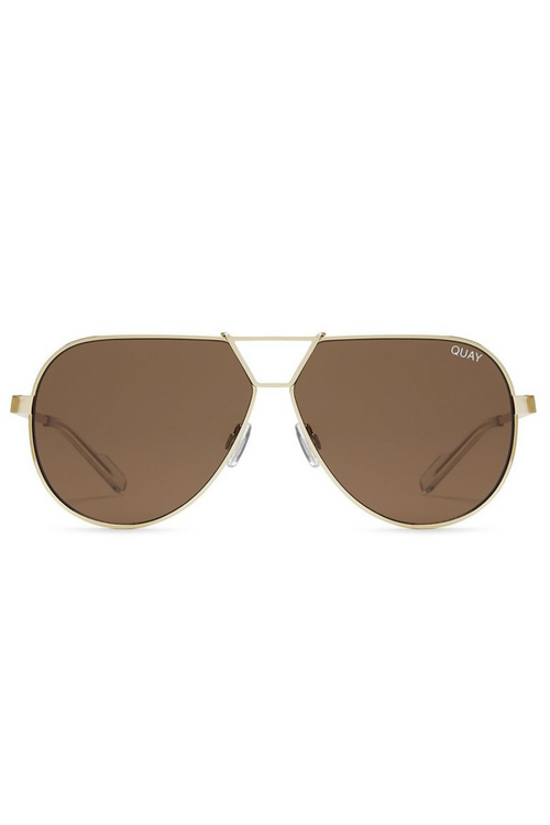 "Quay Australia ""Supernova"" Sunglasses (Brown)"
