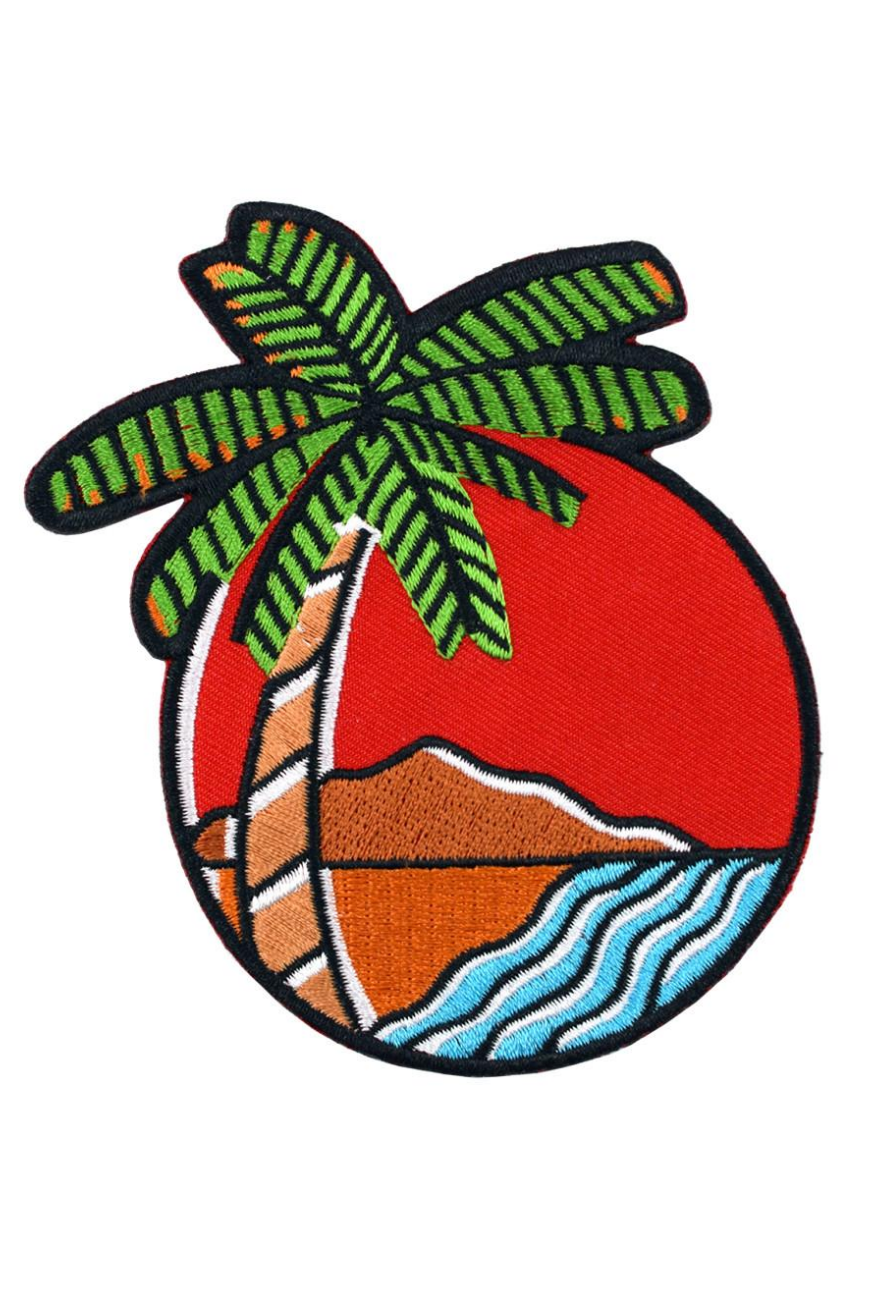 Valley Cruise Tropical Vibes Patch