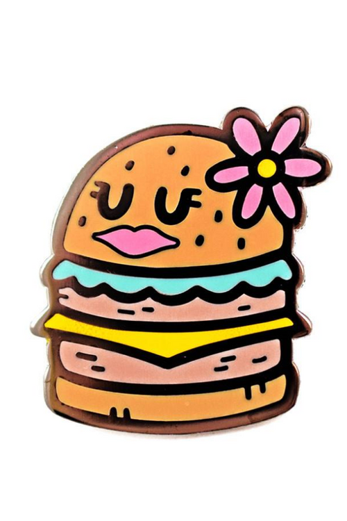 Valley Cruise Pretty Burger Pin