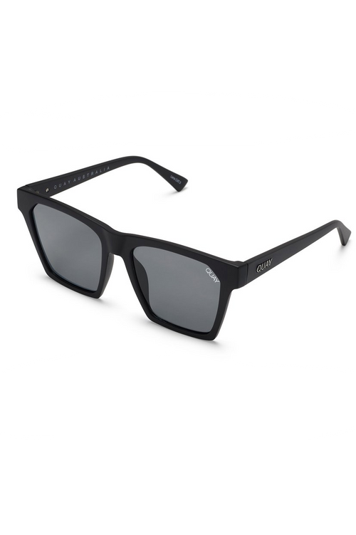 "Quay Australia ""Alright"" Sunglasses (Black/Smoke)"