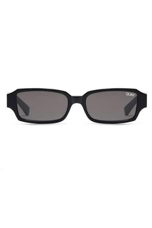 "Quay Australia ""Strange Love"" Sunglasses (Black/Smoke)"