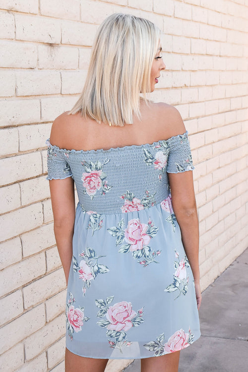 Show Me Your Mumu Dolly Smocked Dress (Sweetheart Sage) SALE