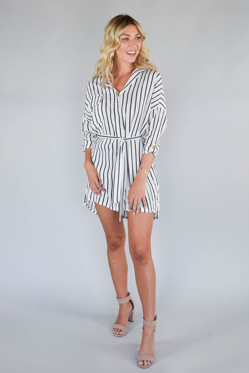 Seas the Day Striped Dress