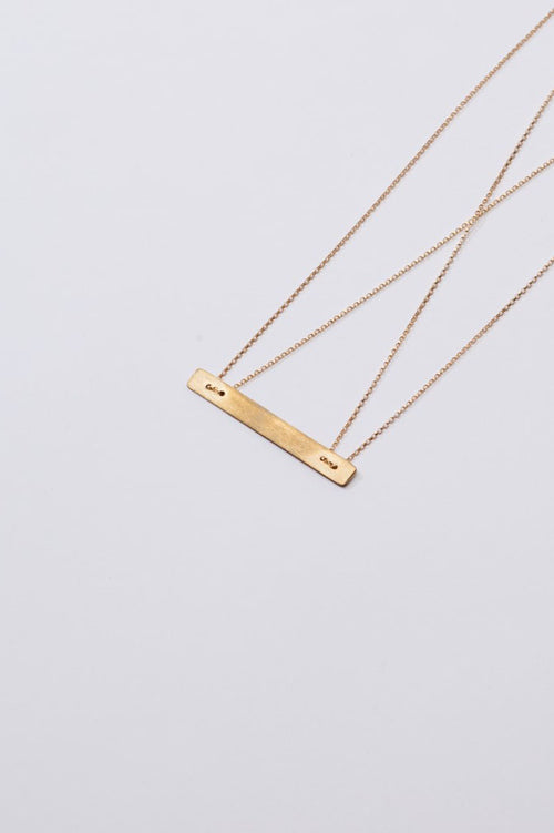 Tribe Alive Floating Bar Necklace