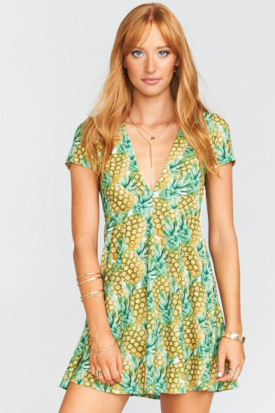 Show Me Your Mumu Ibiza Dress (Pineapple Paradise) SALE