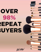 14-pc Luxe Pro Makeup Brush Set