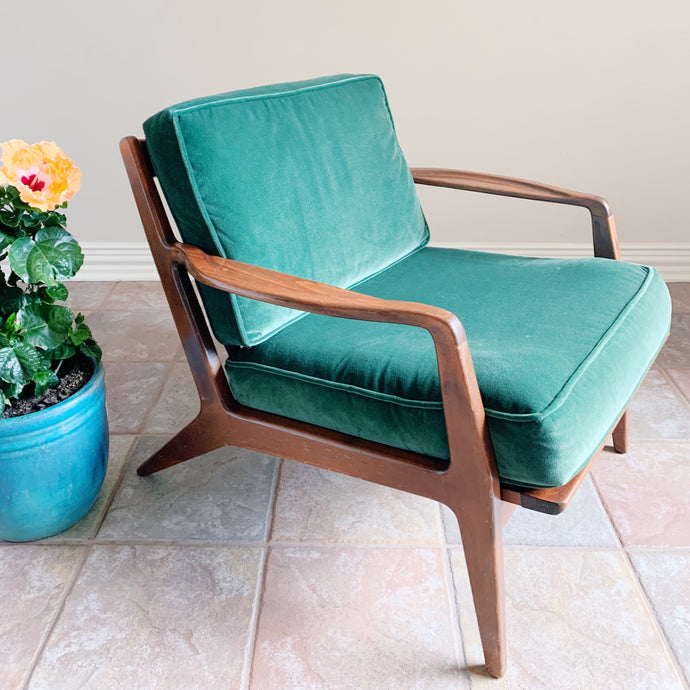Danish Modern Ib Kofod- Larsen Lounge Chair for Selig