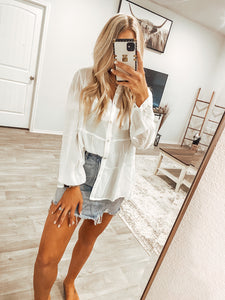 The Jenna Top - White