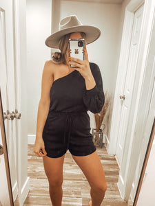 The Kendel Romper - Black