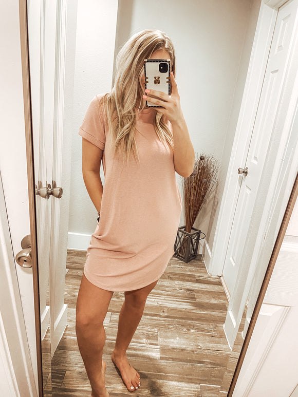 The Lacey Dress - Pink