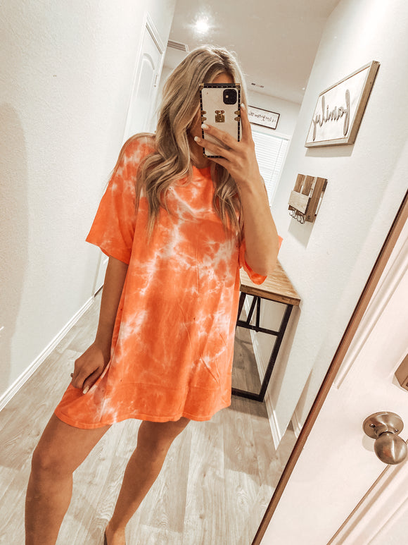 Perfect Tie Dye Dress Tee