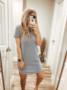 The Lacey Dress - Blue