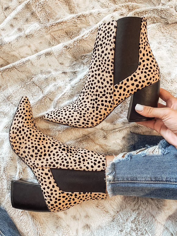 Show me the Leopard Booties