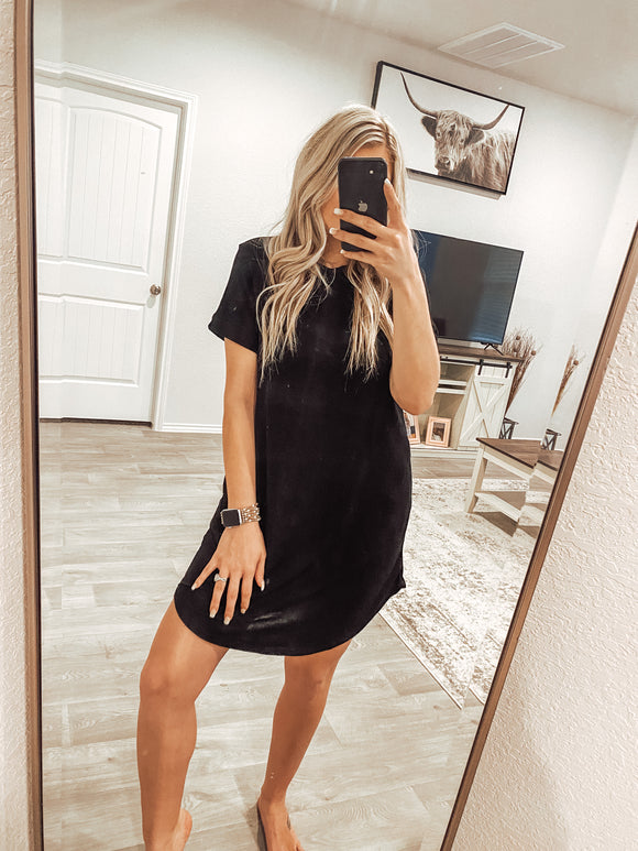 The Lacey Dress - Black