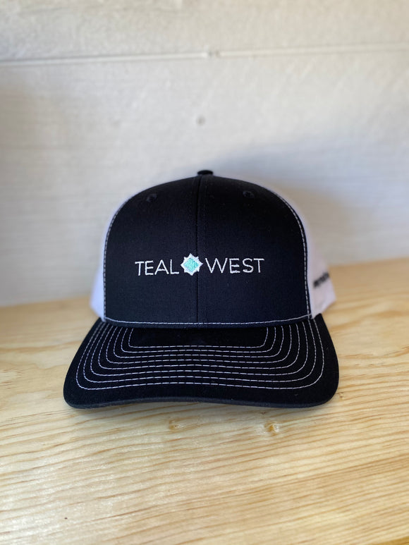 Teal West Cap -Black