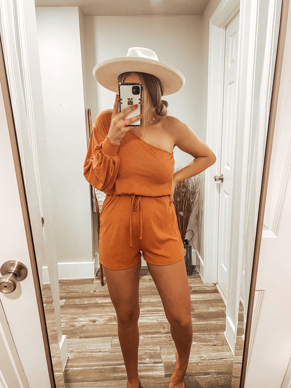 The Kendel Romper - Rust