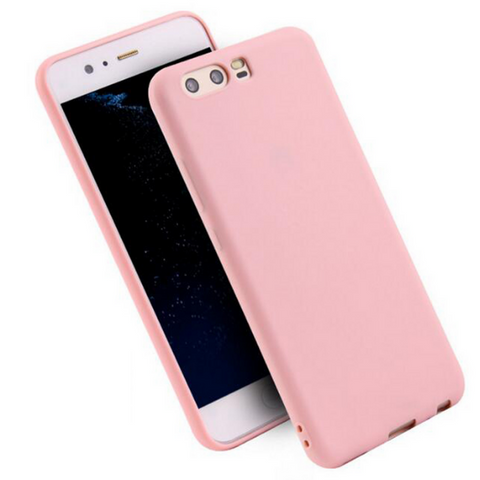 Soft & Smooth Silicone Cover for Huawei P Smart 2018 - Paw Prints & Curly Tails