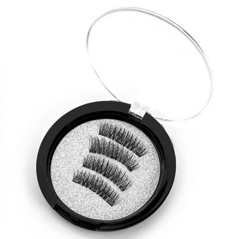 3D Magnetic Reusable Eyelashes - 3 Magnets - Paw Prints & Curly Tails