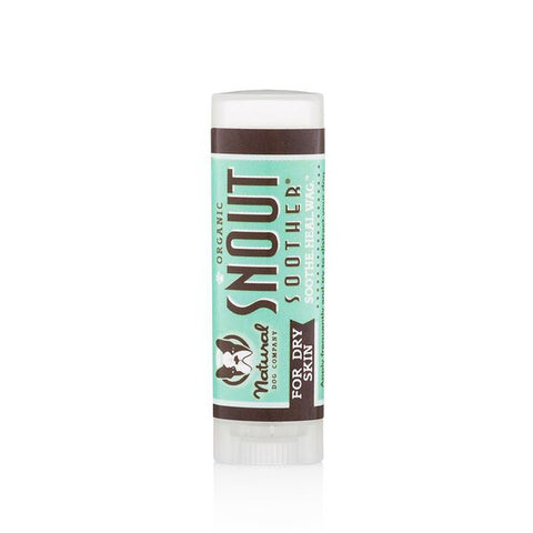 Natural Dog Co Snout Soother Balm - Travel Stick - Paw Prints & Curly Tails
