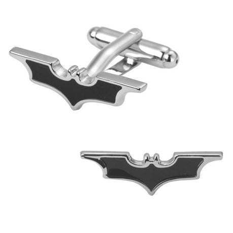 Batman Superhero Winged Cufflinks - Paw Prints & Curly Tails