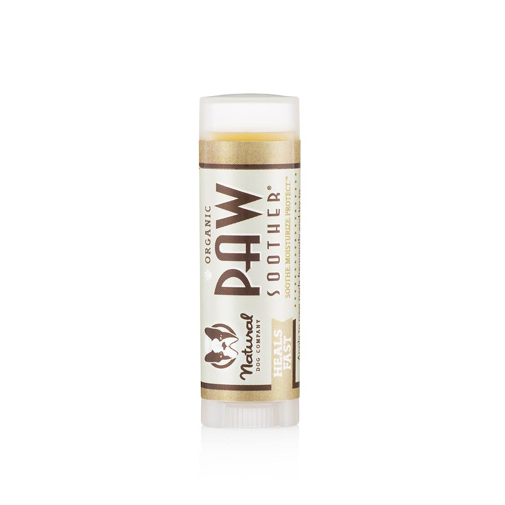 Natural Dog Co Paw Soother Balm - Travel Stick - Paw Prints & Curly Tails