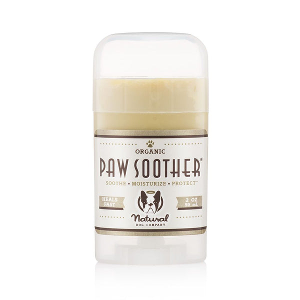 Natural Dog Co Paw Soother Balm - Stick - Paw Prints & Curly Tails
