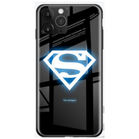 Luminous Superhero Phone Cover for iPhone 11 - Paw Prints & Curly Tails