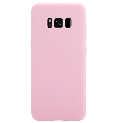 Silicone Phone Case for Samsung Galaxy S8 - Paw Prints & Curly Tails