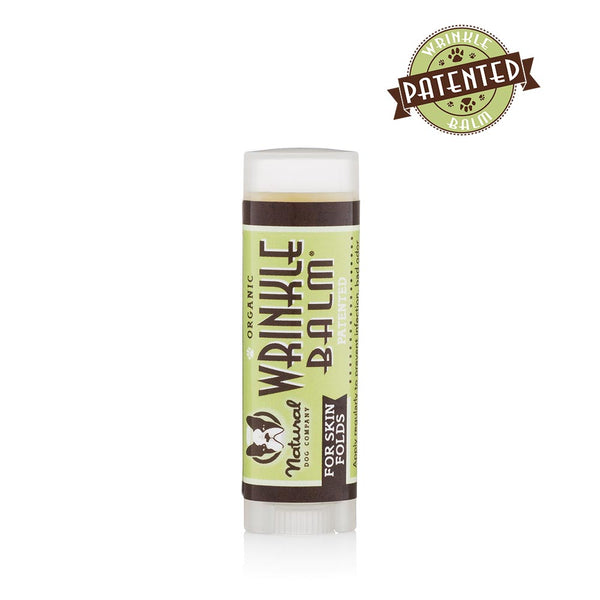 Natural Dog Co Wrinkle Balm - Travel Stick - Paw Prints & Curly Tails