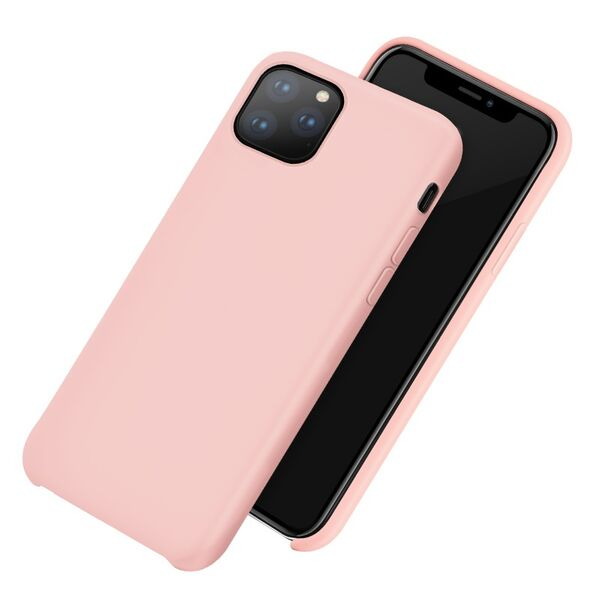 Soft & Smooth Silicone Phone Cover for iPhone 11 PRO - Paw Prints & Curly Tails