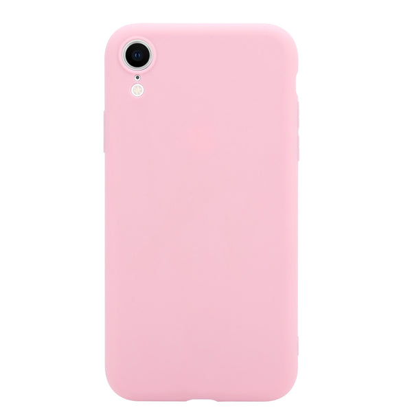 Soft & Smooth Silicone Phone Cover for iPhone XR - Paw Prints & Curly Tails