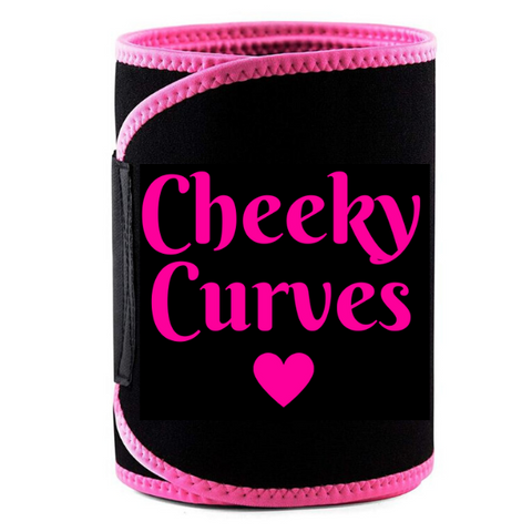 Cheeky Curves Neoprene Waist Trainer - Pink