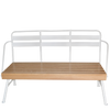 Riblet Triple Ski Lift Bench