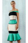 Bodycon Off Shoulder Bandage Dress