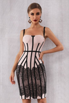 Corset Lace Bandage Dress