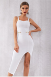 Simple Elegance Bandage Dress