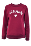 Dog Mom Women Long Sleeve Sweatshirt