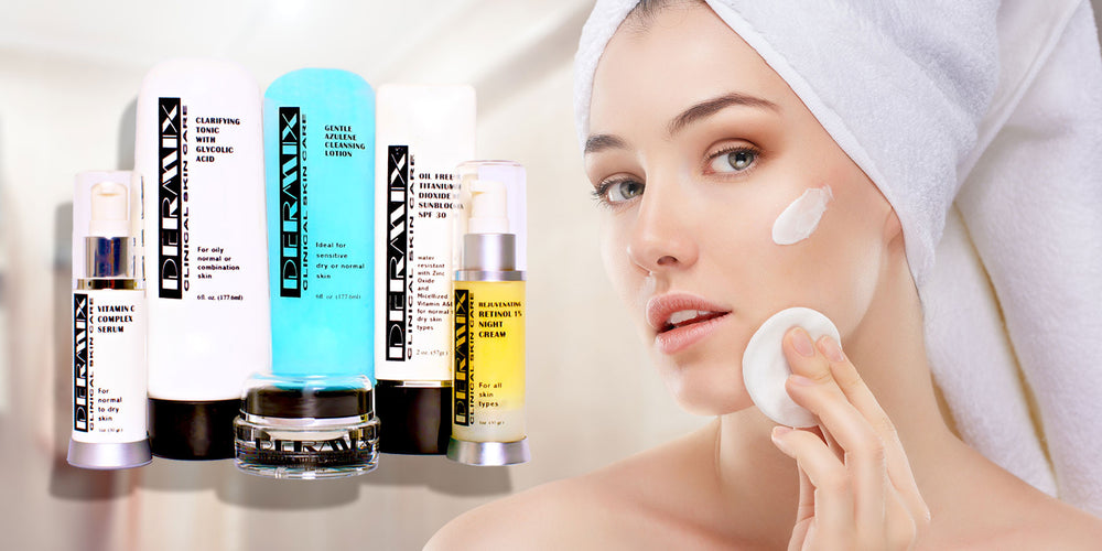 dermix clinical skin care product line