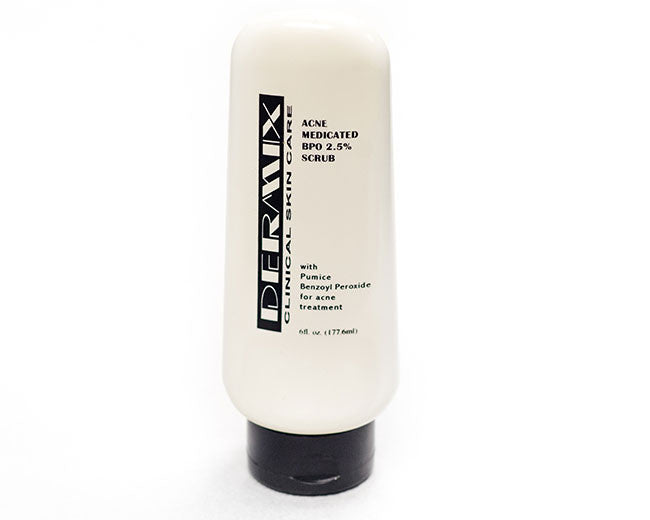 acne medicated benzoyl peroxide 2.5% scrub